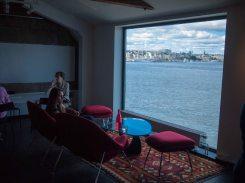 view from Fotografiska