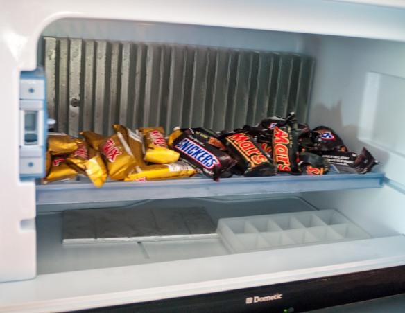 Our freezer.